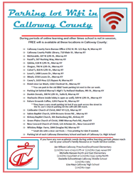 WIFI around the county