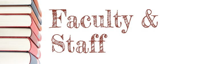 Faculty and Staff Contact Information