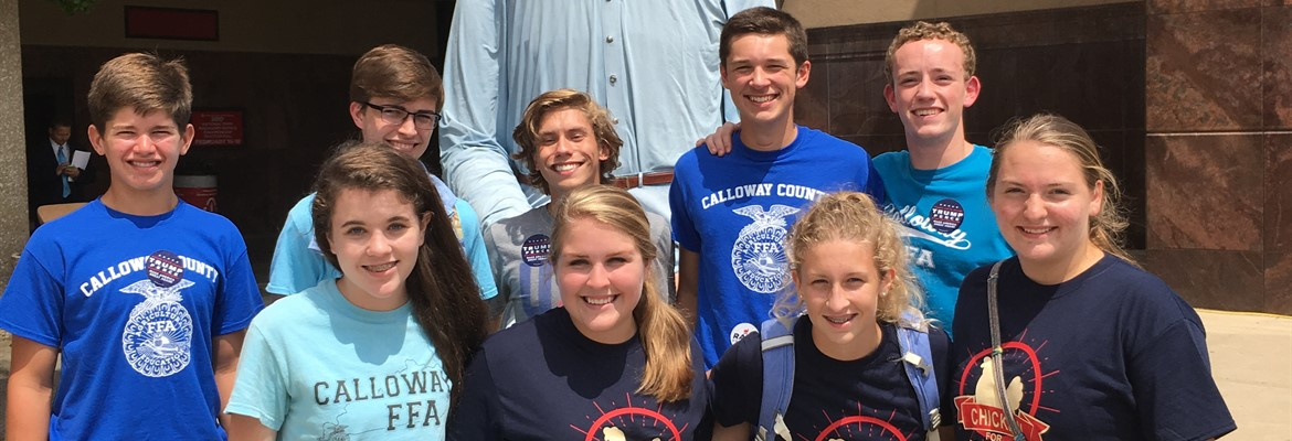 CCHS State Fair Participants 2016 Competed in Nursery Judging, Poultry Judging and Seed Identification