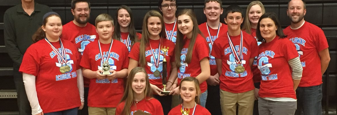 After a great day of competition on Feb. 4th among 17 schools in the first region, the CCMS Academic Team was named regional champions for the fourth consecutive year and the eighth time in the past nine years.