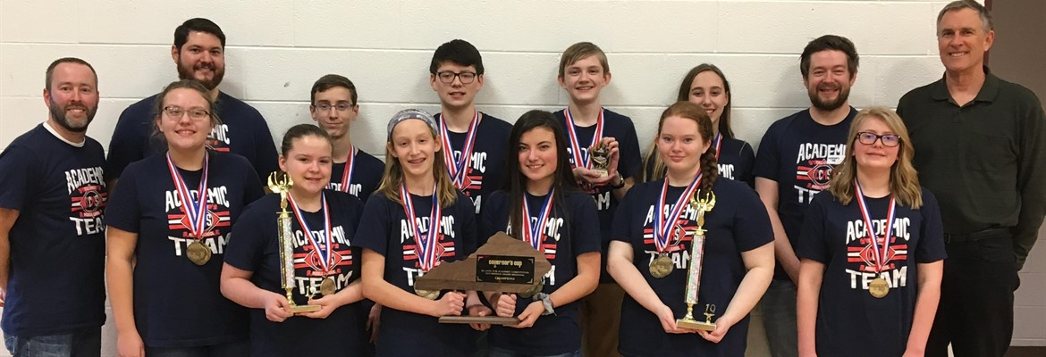 CCMS Academic Team Regional Champs