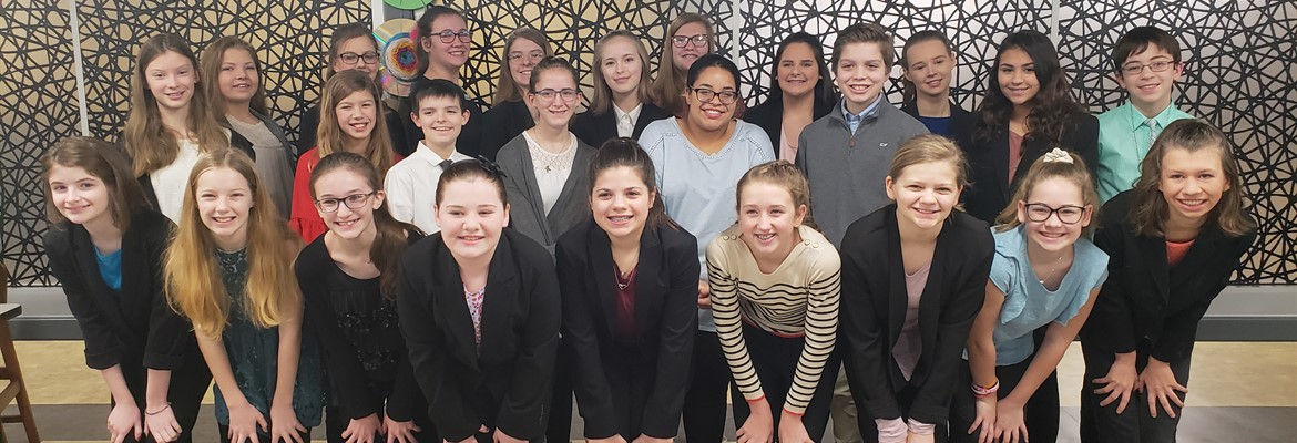 CCMS Speech Team Wins Regionals!