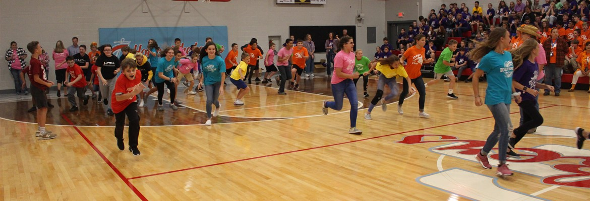 Students participated in a variety of activities at the annual Crew Day kickoff.