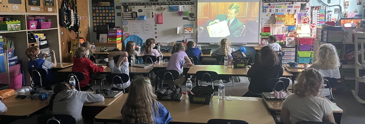 Recently Governor Andy Beshear was a virtual guest reader for Ms. Ransey's 1st grade class for Read Across America Day.