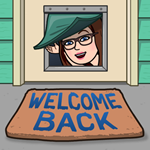 Welcome Back bitmoji