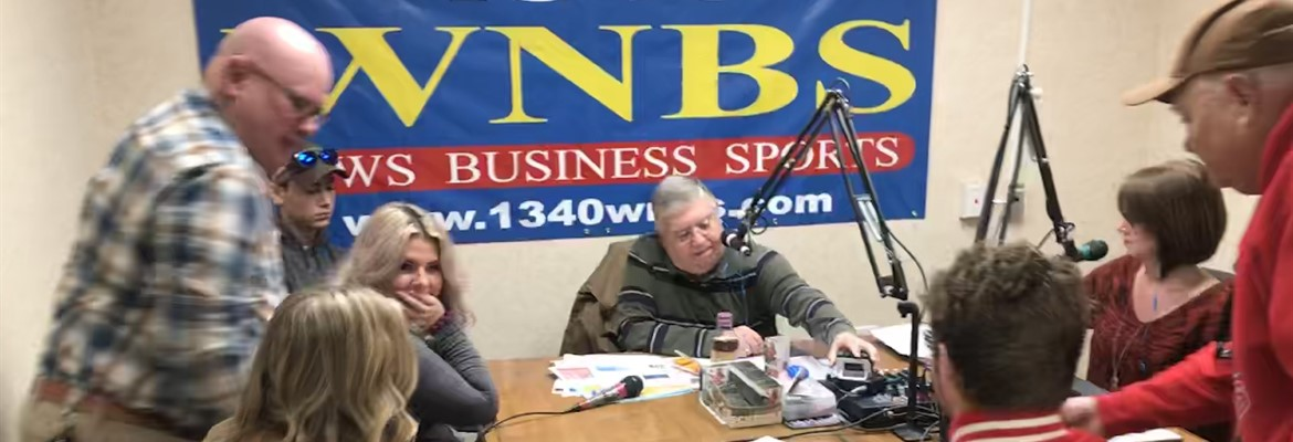 Some of the members of the Calloway County high School Trap Shooting Team were on WNBS Mornings in Murray Radio Show.
